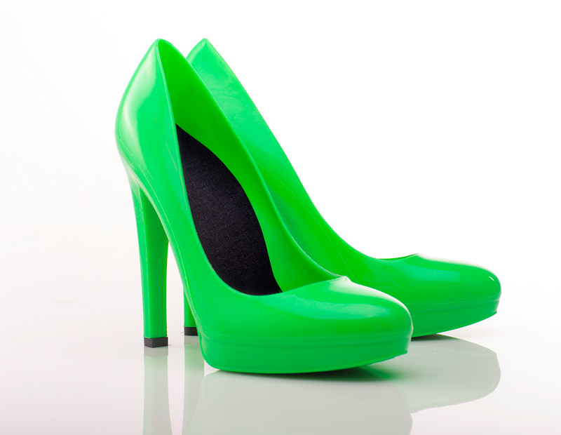 ff25fb294 True Green Stiletto High Heels - Jelly Shoes