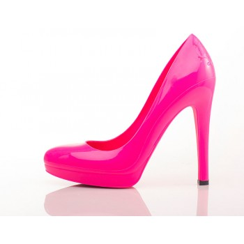 Hot Pink Stiletto High Heels