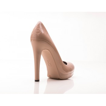 Bella Pelle Stiletto High Heels (Beige/ Nude) - Jelly Shoes