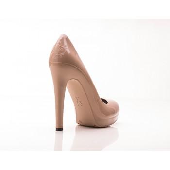Bella Pelle Stiletto High Heels (Beige/ Nude)