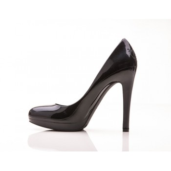 La Perla Nera Stiletto High Heels (Black) - Jelly Shoes