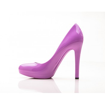 Radiant Orchid Stiletto High Heels (Lilac / Light Purple) - Jelly Shoes